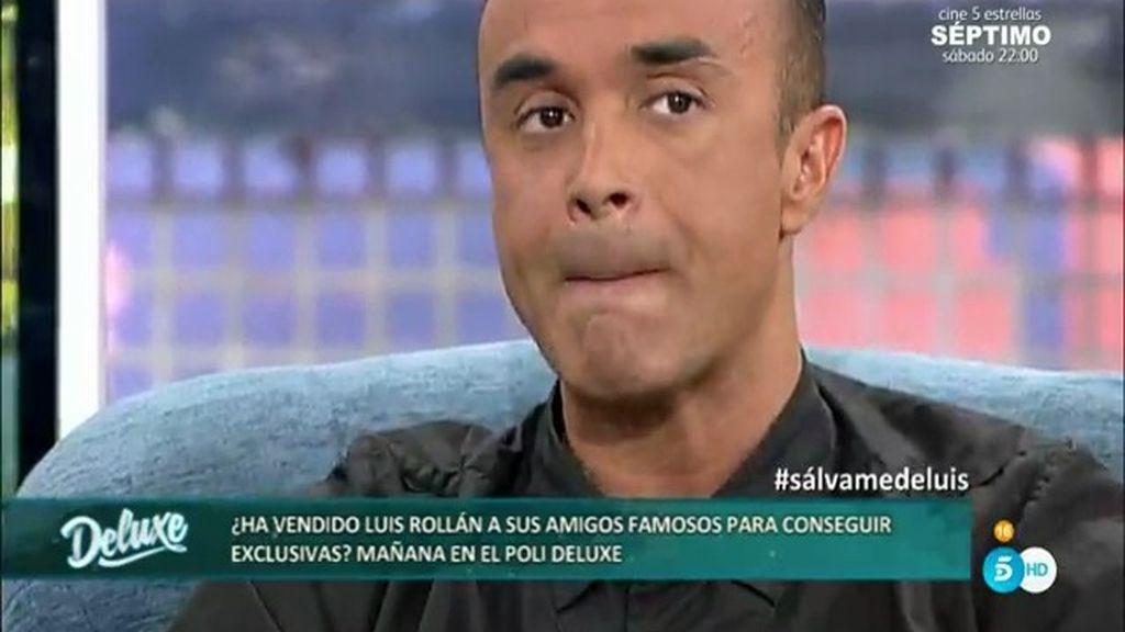 """Luis Rollán: """"Jordi ha ido contando a todos que mi marido me había pegado"""""""