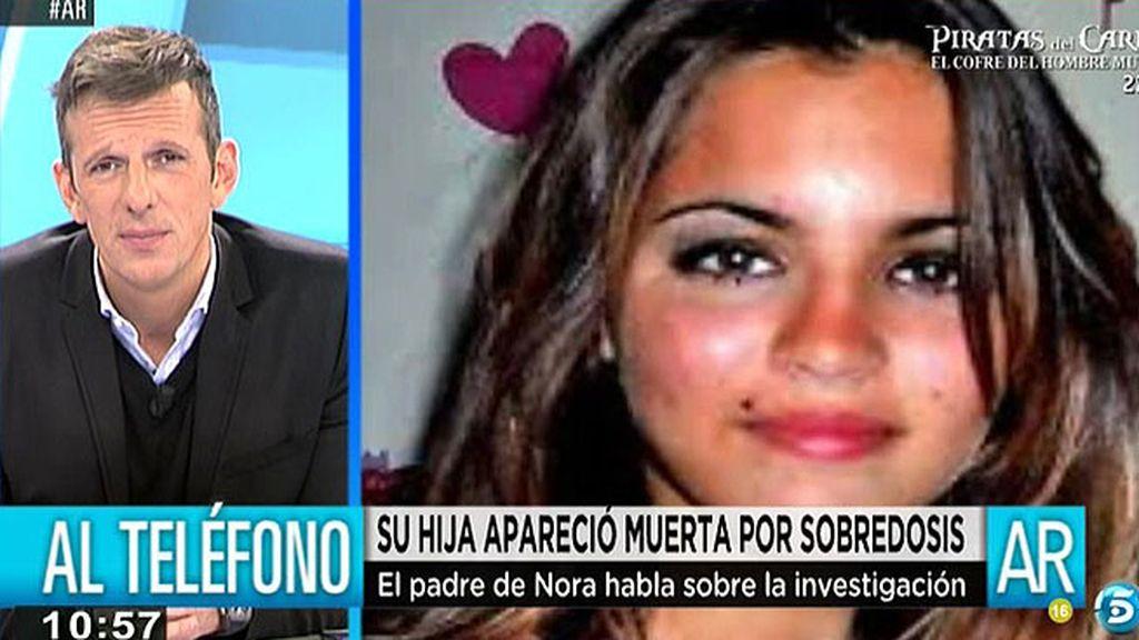 """Paco, padre de Nora: """"Estamos viendo si pudo ser homicidio pero es complicado"""""""