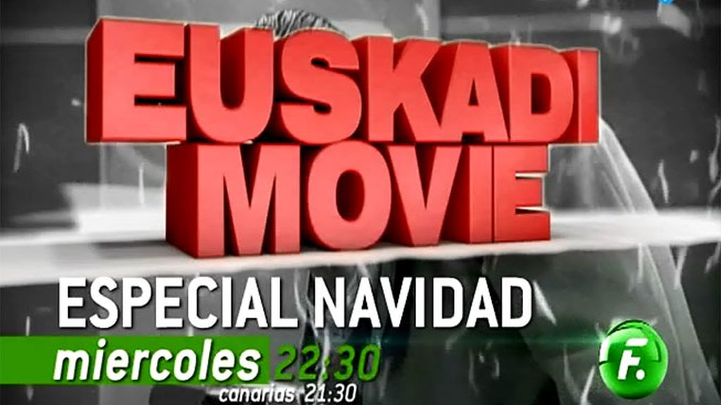 'Euskadi movie: especial Navidad', en Nochevieja