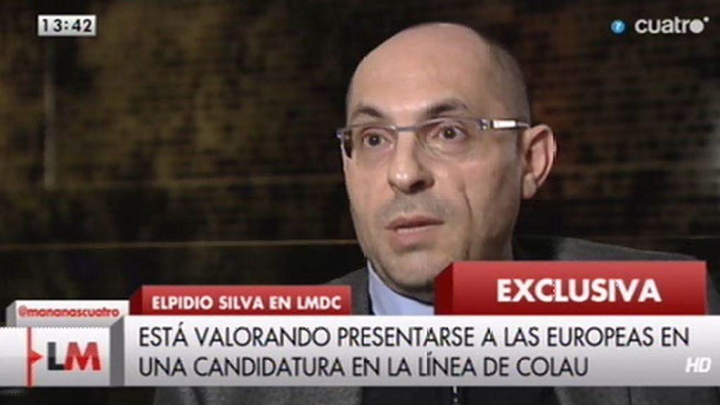 Jesús Cintora entrevista a Elpidio José Silva