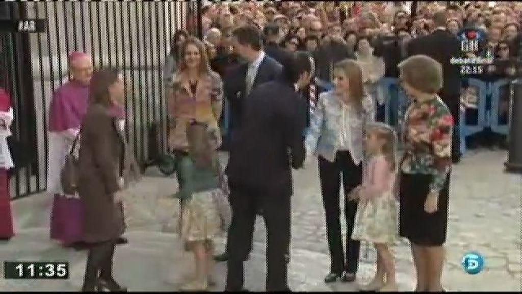 Las vacaciones de la familia real