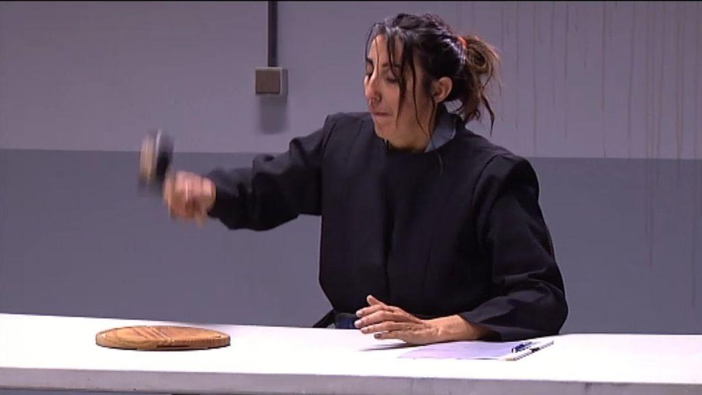 La Chusa, jueza 'pirata' en el juicio de divorcio entre Berta y Recio