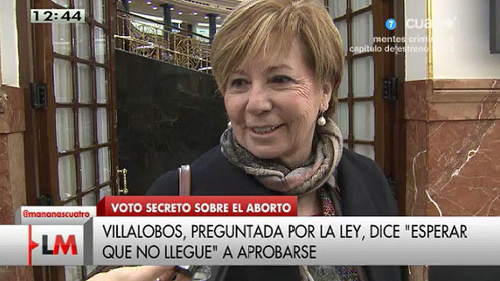 """Celia Villalobos, sobre la reforma de la ley del aborto: """"Espero que no llegue"""""""