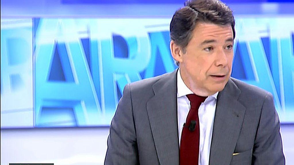 """Ignacio González: """"Estoy en contra de las primarias"""""""