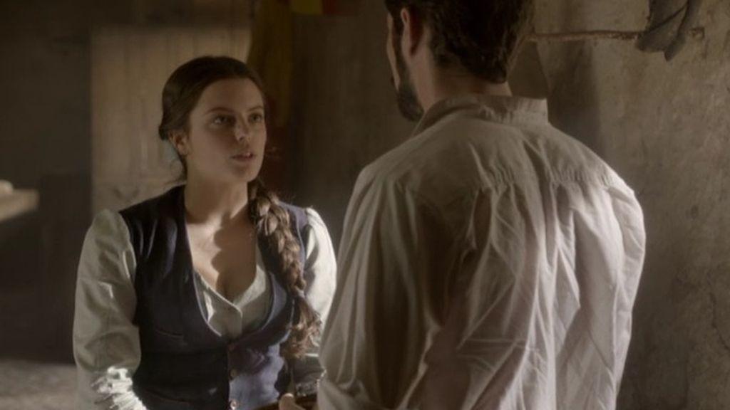 Isabel acepta casarse con el teniente Ruiz