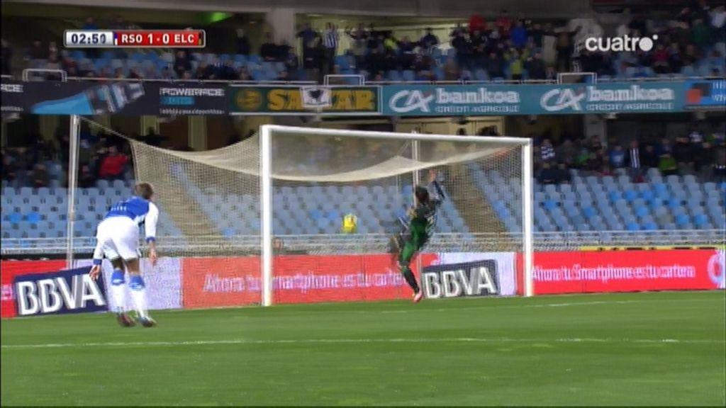 Gol de Griezmann (Real Sociedad 1-0 Elche)