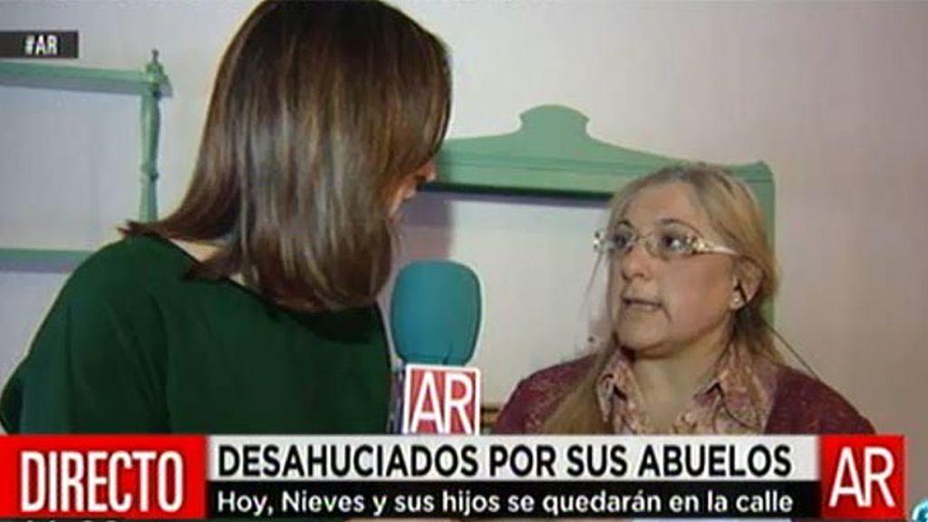 """Nieves: """"Él se llevó las fianzas porque era el administrador"""""""