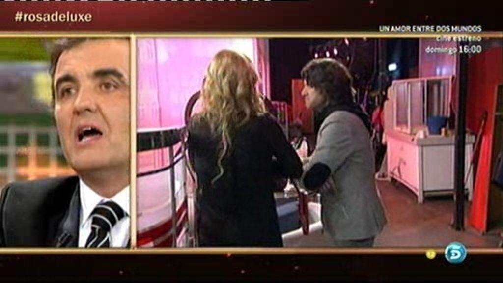 Belén Esteban abandona el plató por las declaraciones de Antonio Molero
