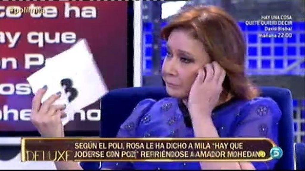 Amador Mohedano le debe dinero a Belén Esteban, según el polígrafo