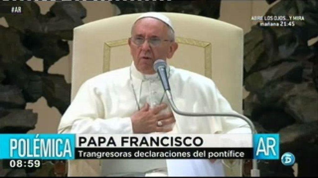 """Papa Francisco: """"Jamás he sido de derechas"""""""