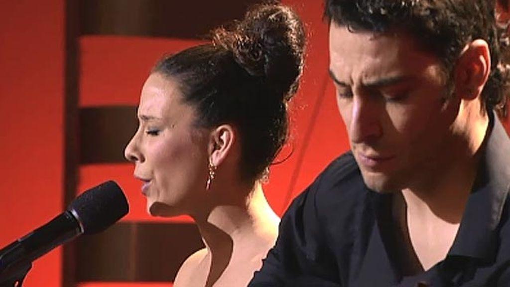 Mercedes García 'La Meligrana' y Jesús de Vicente, 31 y 27 años, flamenco fusión