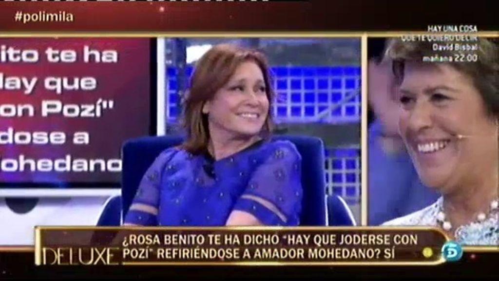 Rosa llamaba 'Pozí' a Amador, según el 'poli'