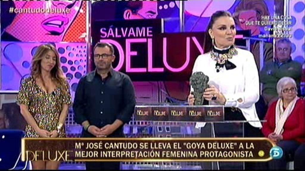 La Cantudo se lleva el 'Goya Deluxe' como mejor interpretación femenina protagonista
