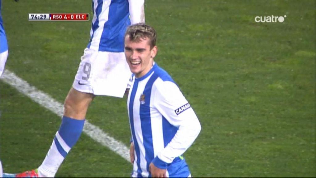 Gol de Griezmann (Real Sociedad 4-0 Elche)