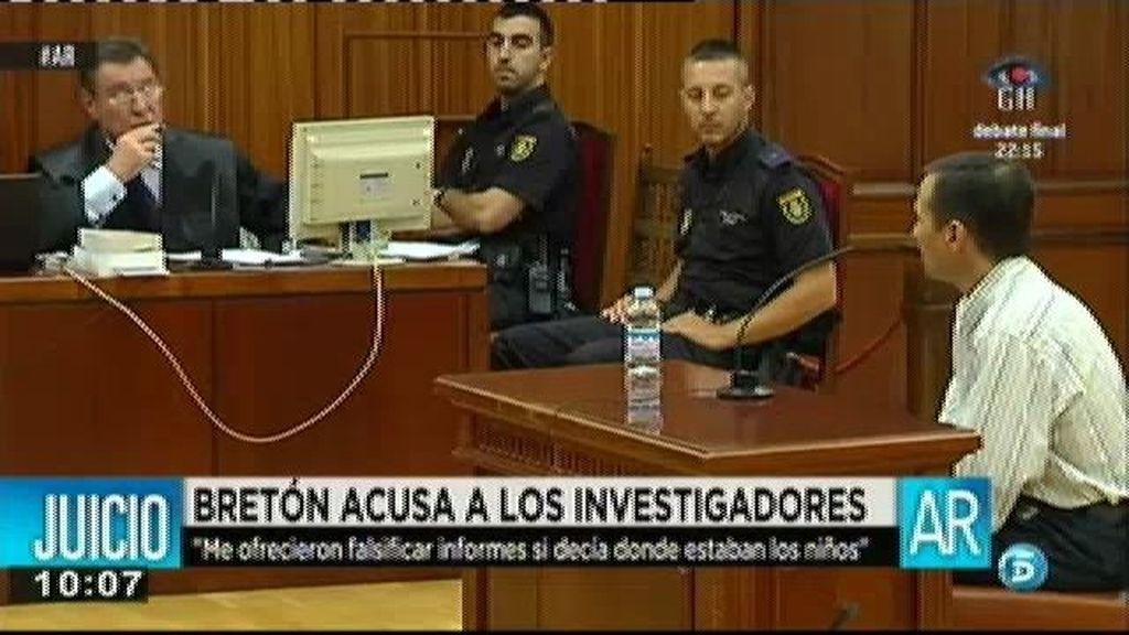 Bretón ha asegurado que Castro le ofreció falsificar informes si decía donde estaban los niños