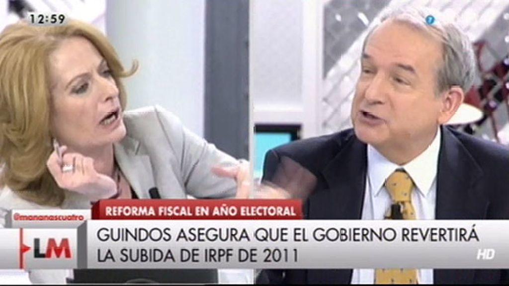 """Alicia Gutiérrez, a José Apezarena: """"Te voy a llamar ahora yo demagogo"""""""