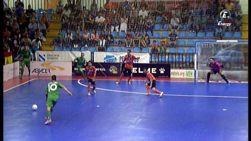 Gol de Rafa Usín (Burela 0-1 Xota Navarra)