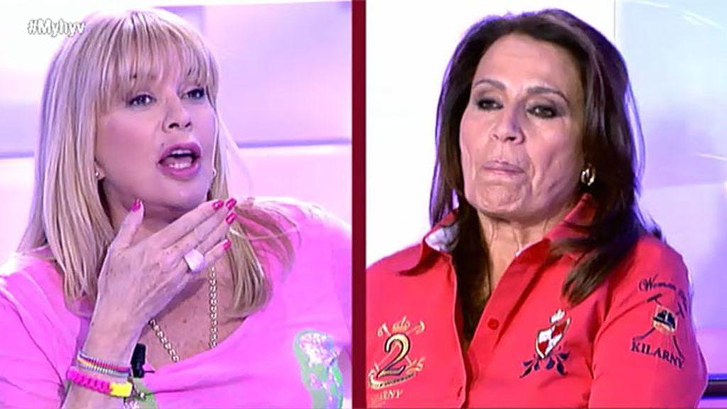 """Bárbara Rey, a Nagore: """"No me quites protagonismo que la que se ha acostado con Chelo soy yo"""""""