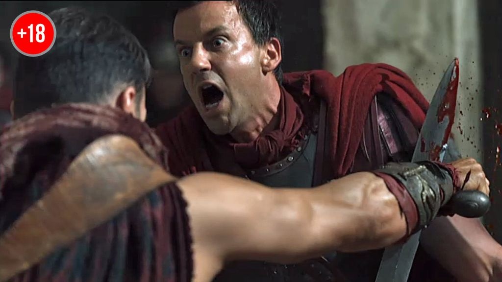 Spartacus se enfrenta a Claudio Glabro en Capua