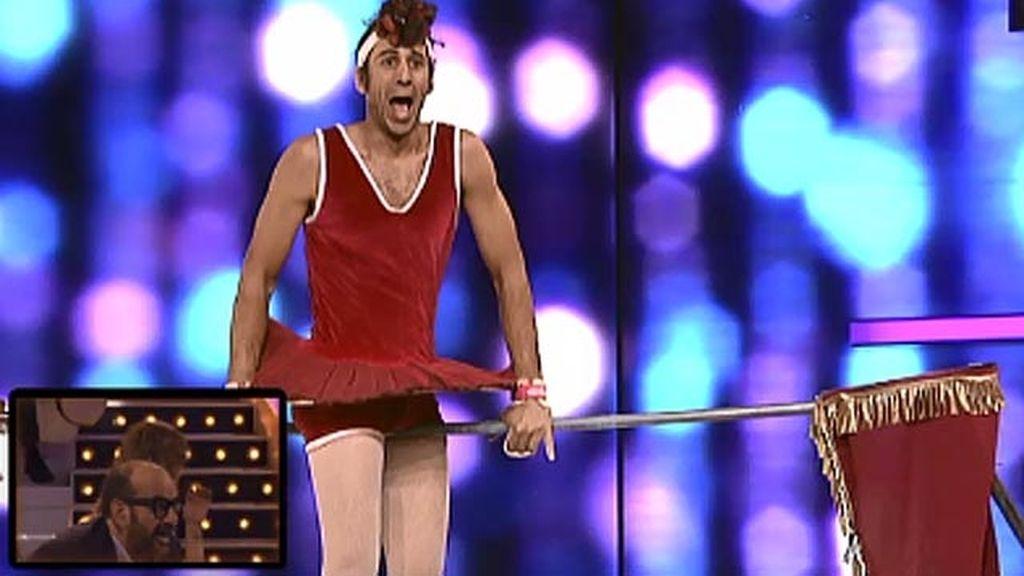 Boris Ribas 'La Tití', 38 años, Circo