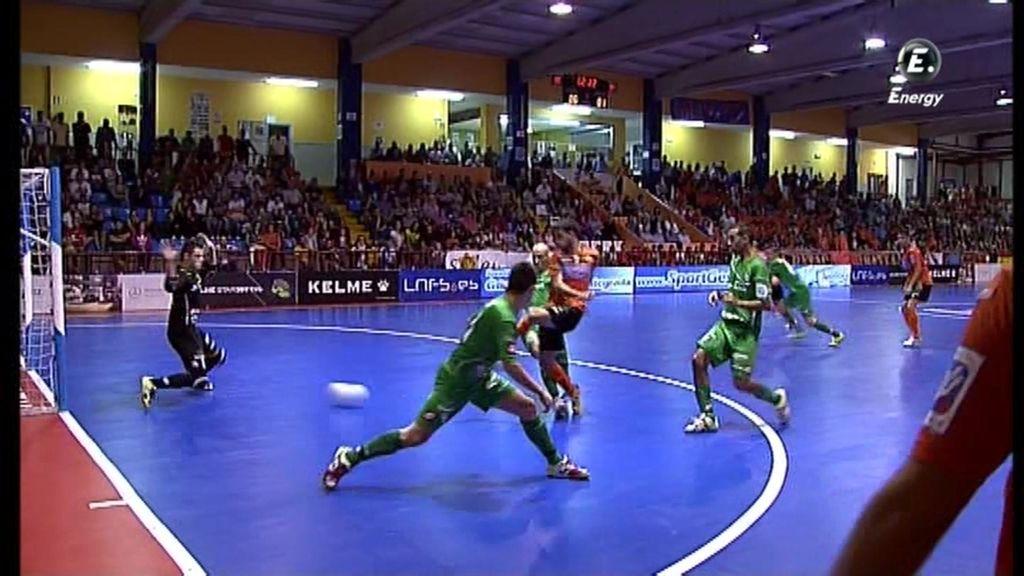 Gol de Isi  (Burela 1-1 Xota Navarra)