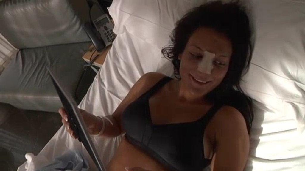 """Cristina: """"Me han quedado naturales, pero igual me pongo más"""""""