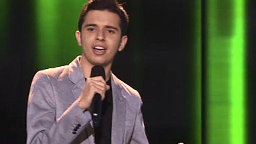 Sergio Romero, 18 años, cantante