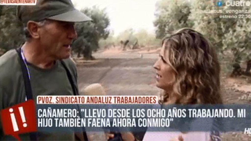Nos vamos a faenar con Diego Cañamero, pvoz. del sindicato andaluz de trabajadores