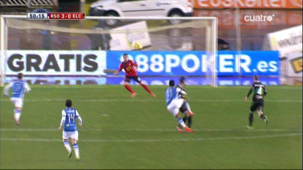 Gol de Vela (Real Sociedad 3-0 Elche)