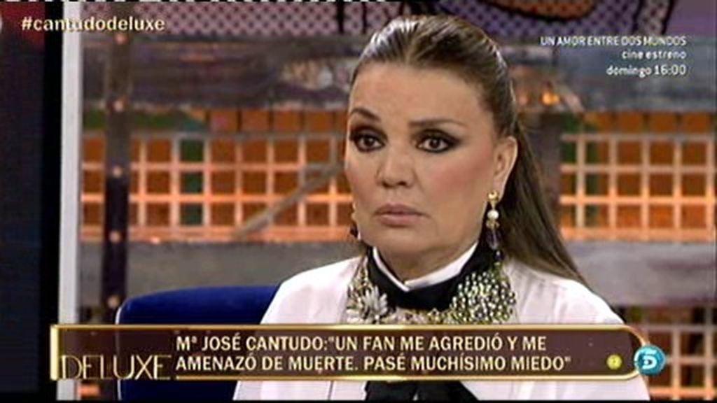 """La Cantudo: """"Un hombre se me acercó en la calle y me retorció el pecho"""""""