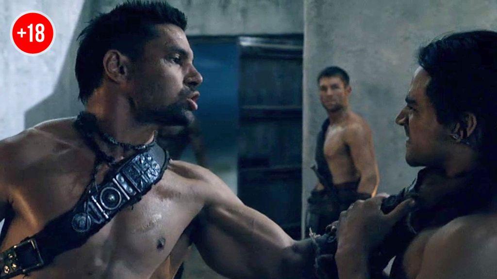 Spartacus perdona a Tiberio por su traición