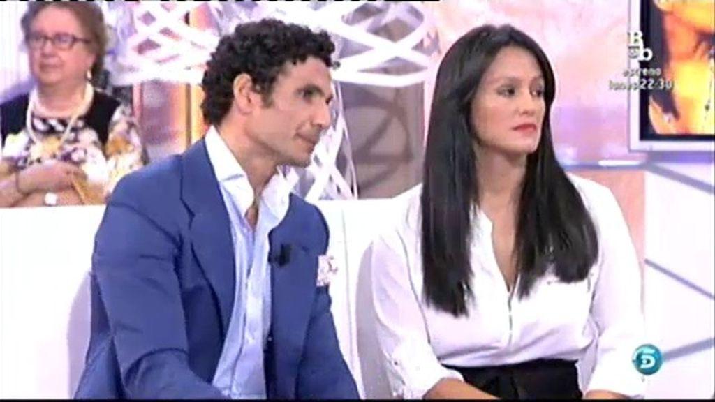 Óscar Higares y Sandra, 23 años de amor
