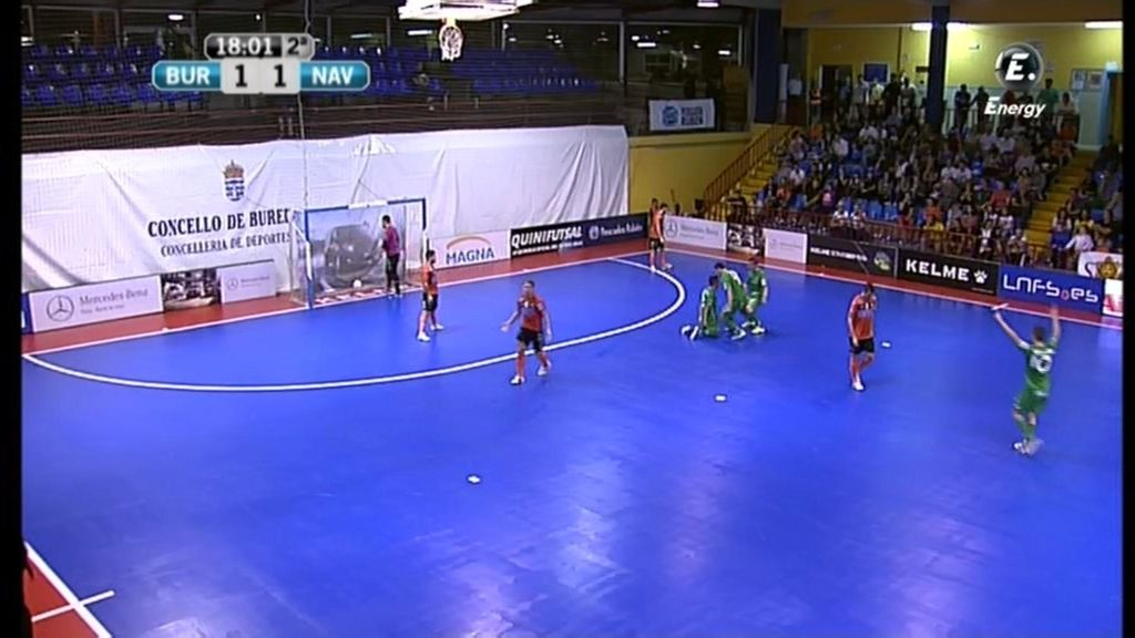 Gol de Jesulito  (Burela 1-2 Xota Navarra)