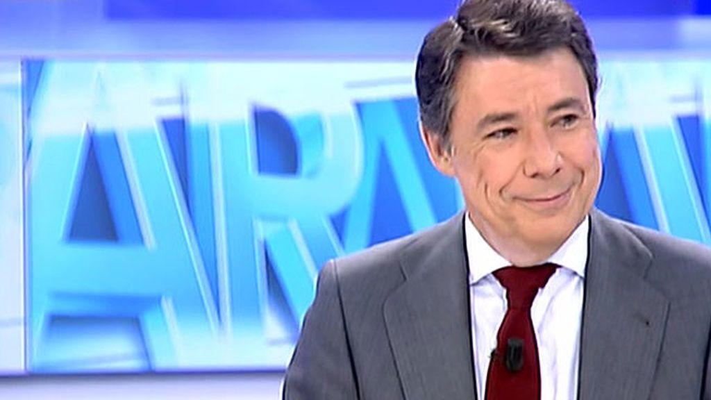 """Ignacio González: """"Eurovegas es un proyecto no sólo para Madrid sino para España"""""""