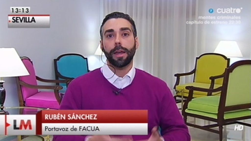 """Rubén Sánchez: """"Es ilegal, no pueden ocultar el precio de un producto"""""""
