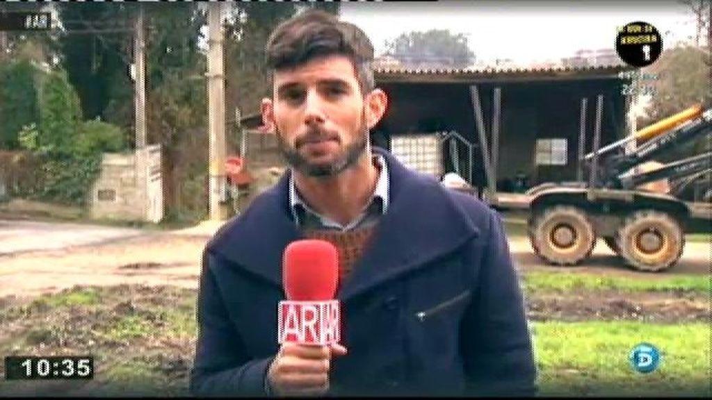 El empresario gallego pasó cinco días retenido en condiciones deplorables