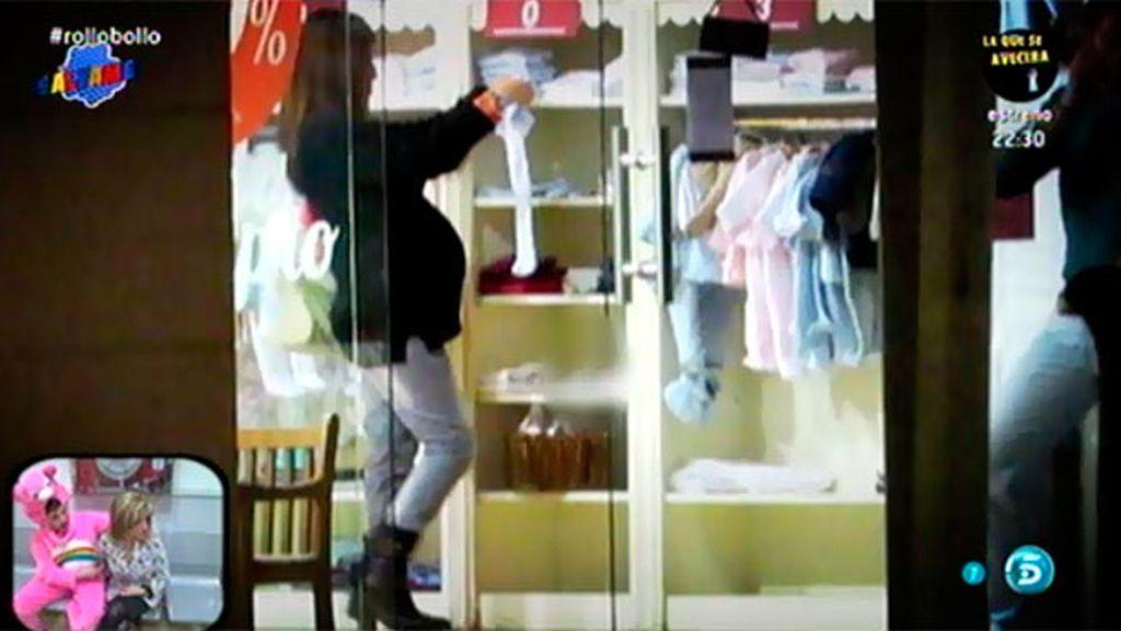 Chabelita y Alberto, de compras para el bebé