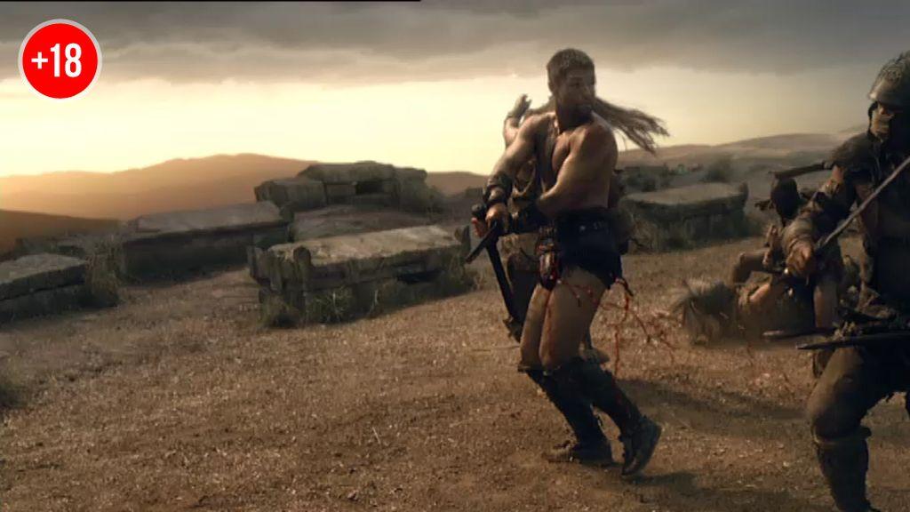Los gladiadores fugitivos luchan por su libertad