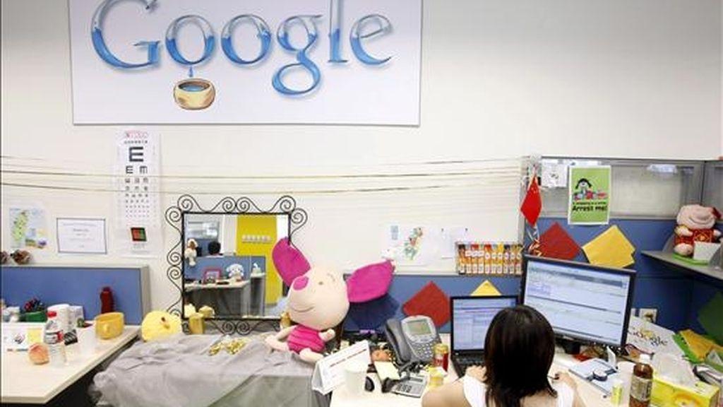 """La compañía anunció que su herramienta """"Google Translate Web"""" permite desde hoy que los usuarios traduzcan de farsi a inglés y viceversa. EFE/Archivo"""