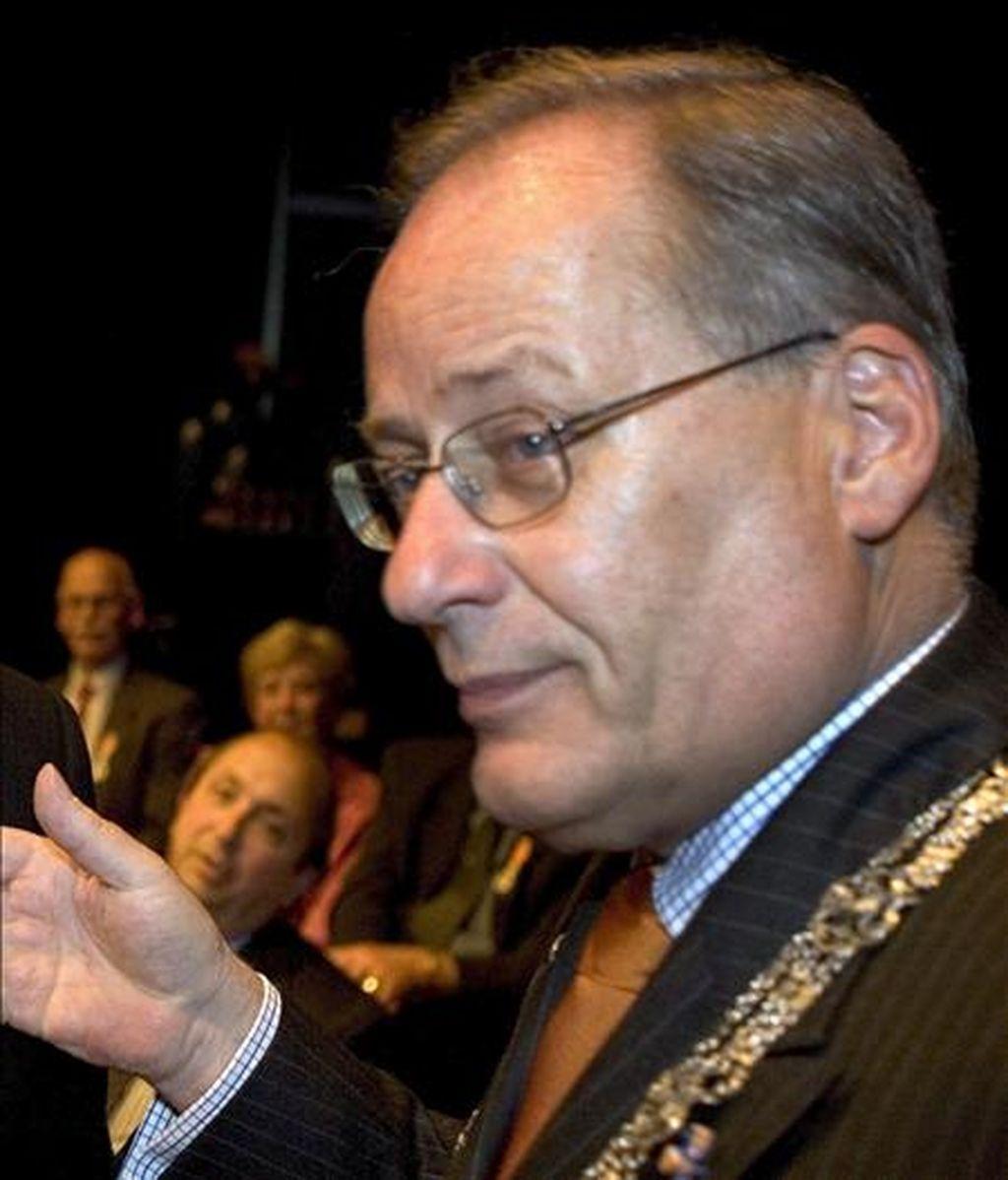 El ex ministro holandés Wim Deetman. EFE/Archivo