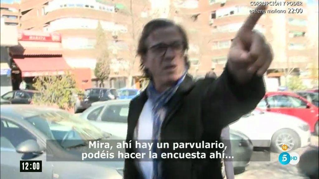 """Pepe Navarro, molesto con un periodista: """"¿No te da vergüenza preguntar eso?"""""""