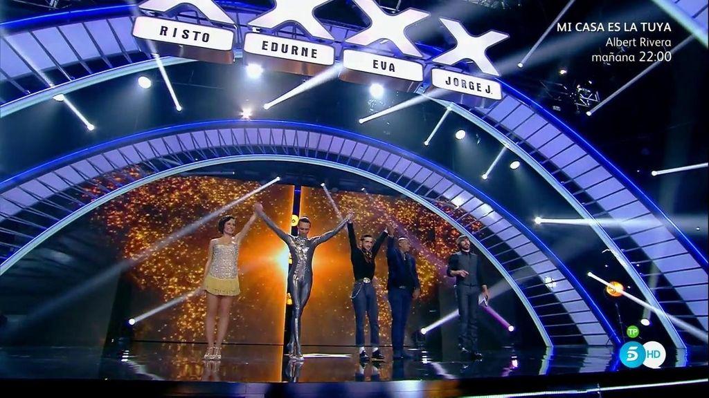 Abdel Luna, Solagne Freyre, 'El Tekila' y Joel Armando, primeros finalistas de 'Got Talent'