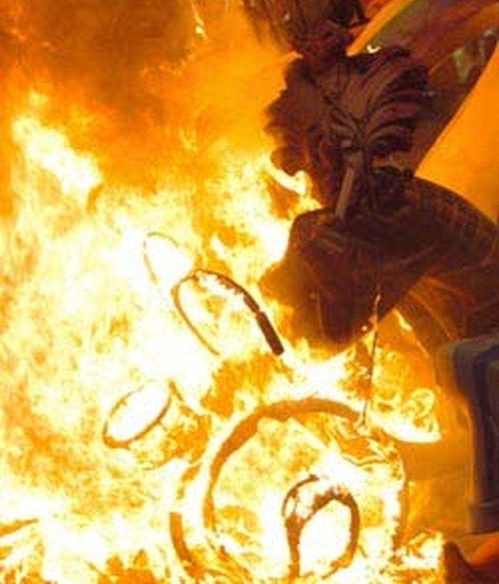 Alicante se prepara para la fiesta del fuego.