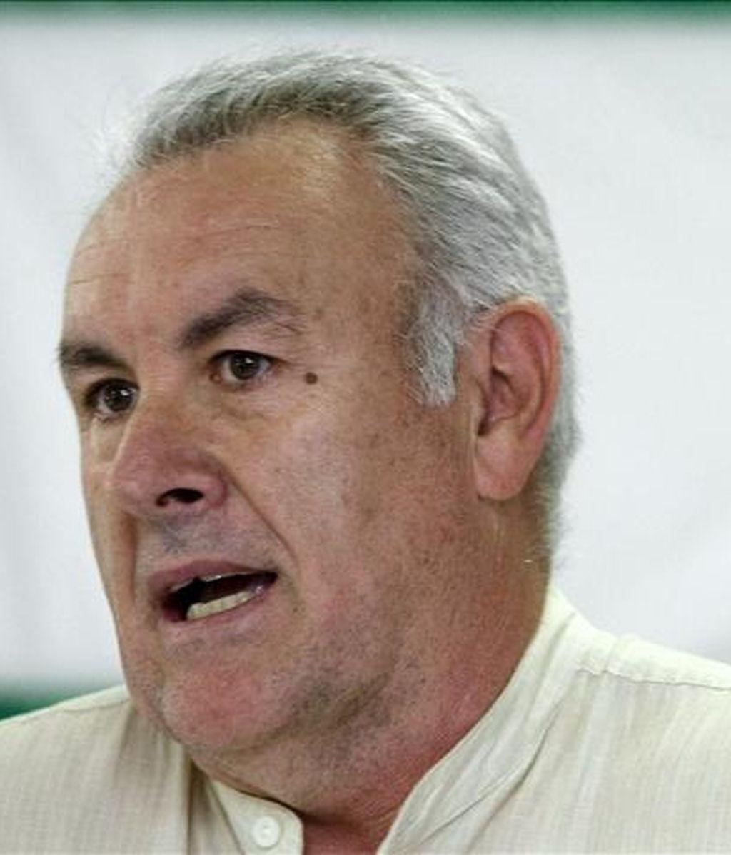 El coordinador general de IU, Cayo Lara. EFE/Archivo