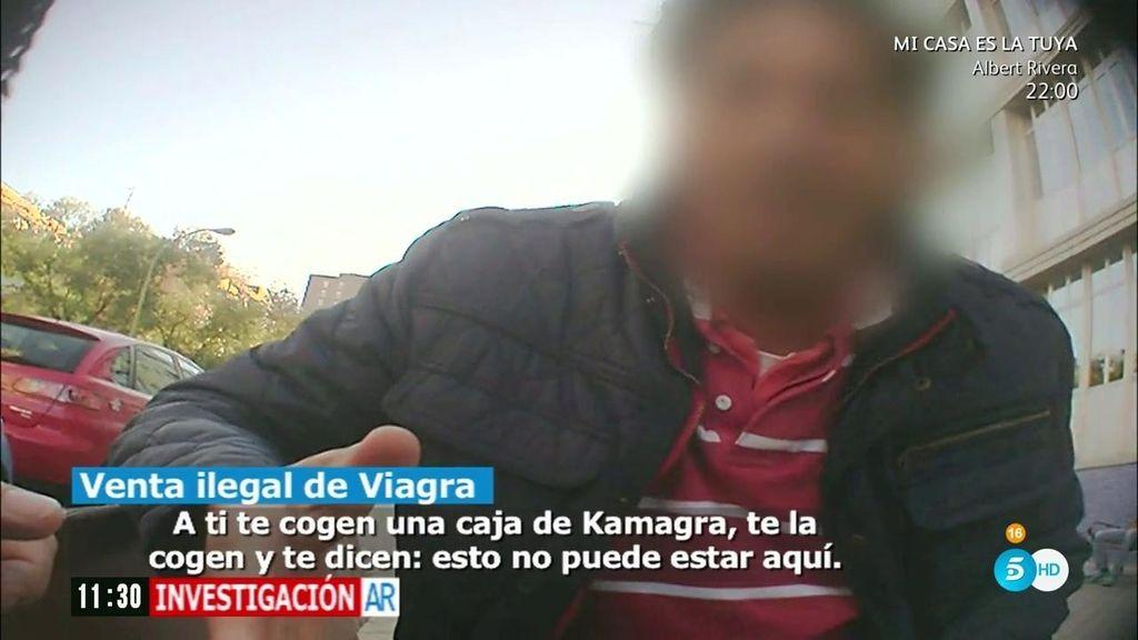 """'AR' queda con un traficante de Viagra: """"Hay un vacío legal, yo te las puedo vender"""""""