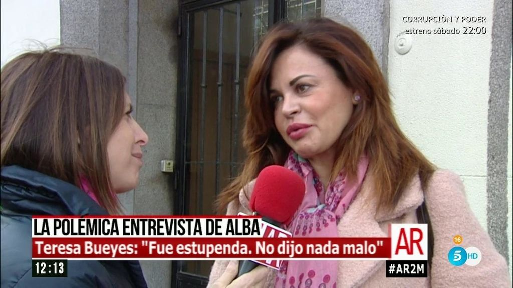 """Teresa Bueyes, abogada de Alba Carrillo: """"Voy a pedir el interrogatorio de Feliciano"""""""