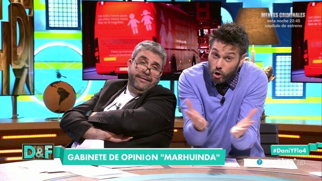El gabinete MarhuInda: ¿Qué piensan de la campaña del autobús de HazteOir?