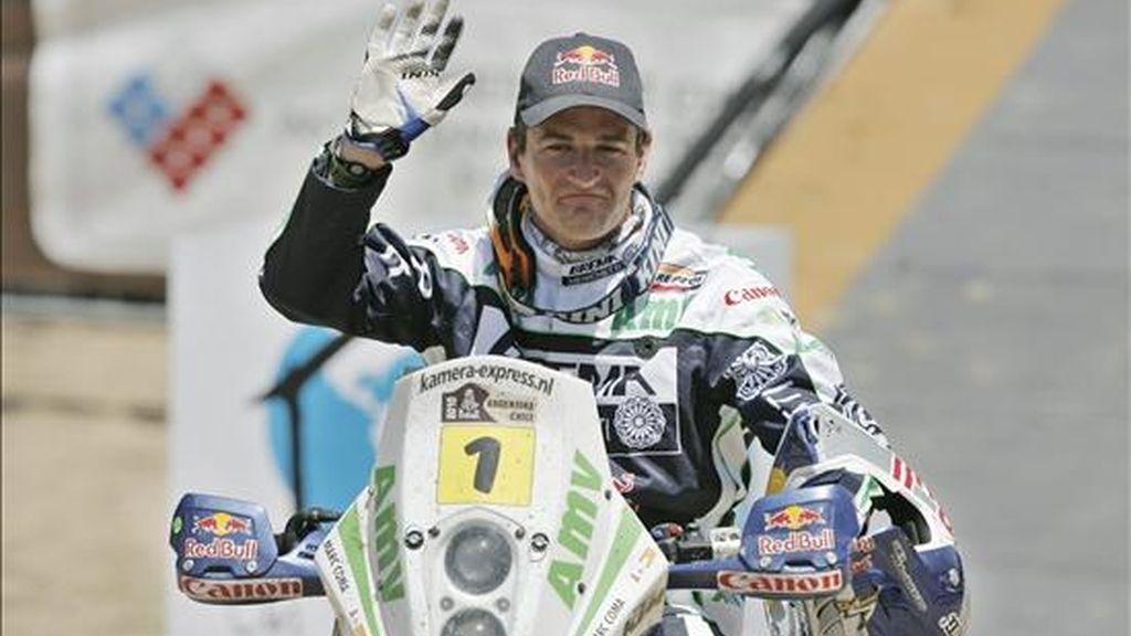 El motociclista español Marc Coma. EFE/Archivo