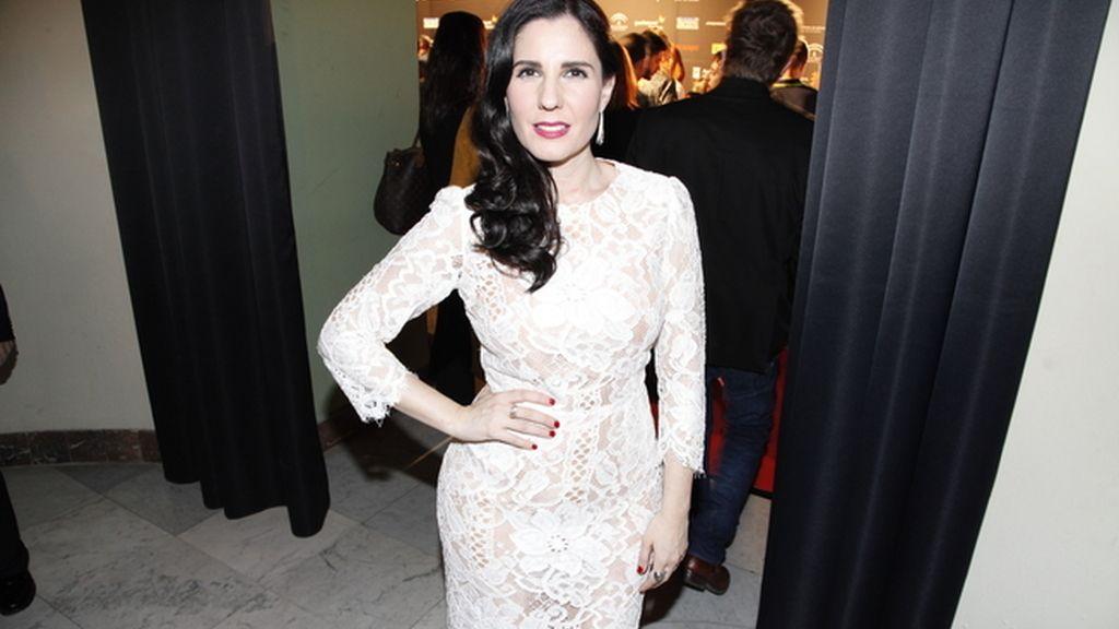 Diana Navarro muy guapa con este Dolce & Gabbana