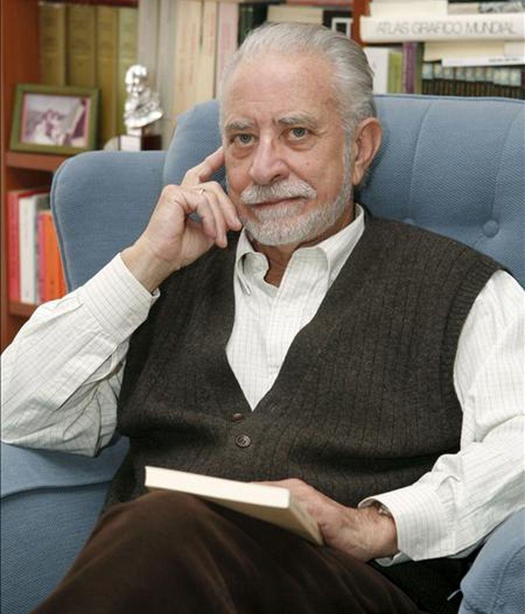 José María Merino, durante una entrevista con Efe. EFE/Archivo
